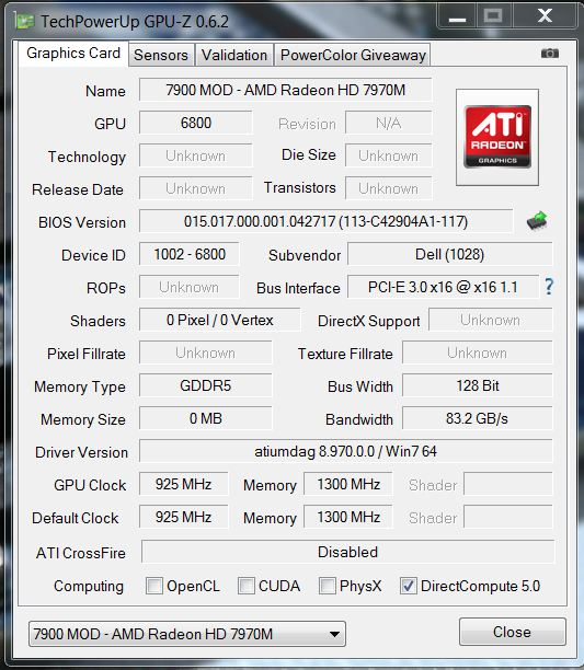 7970m Unable To Change Vddc In Vbe7 General Notebook Discussions Tech Inferno Forums