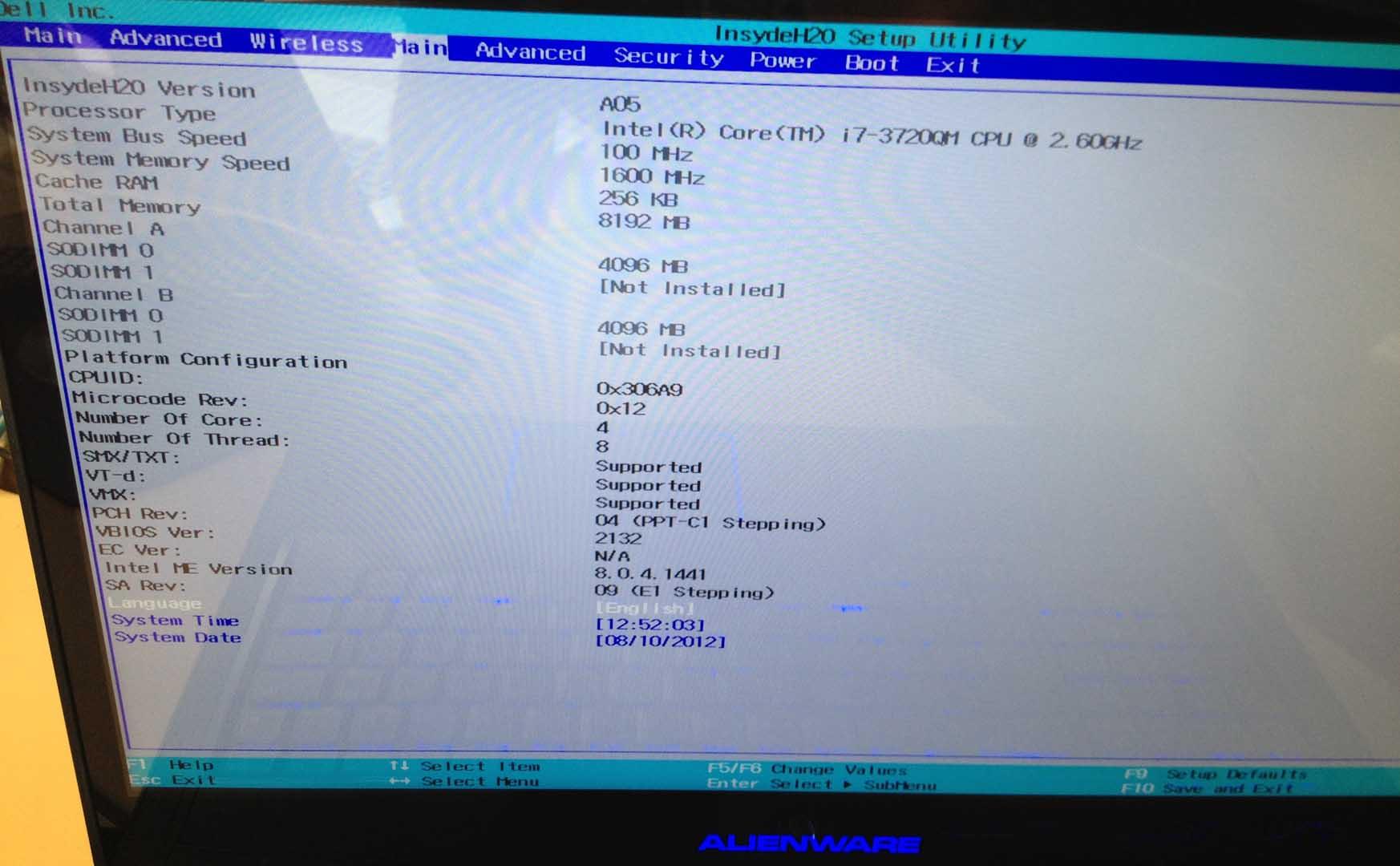 M17x R4] - 'unlocked' BIOS versions - Page 25 - Alienware