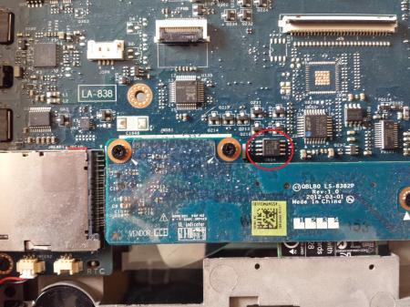 13 R3 BIOS CHIP for Dell Alienware 13 R2